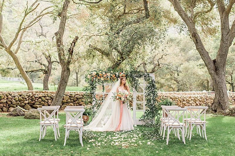 Ethereal Spring Garden Wedding Ideas | Southern California ...