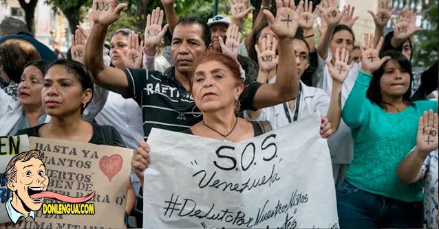 El futuro de EEUU | Ancianos y enfermos exigen que les vendan gas en Venezuela