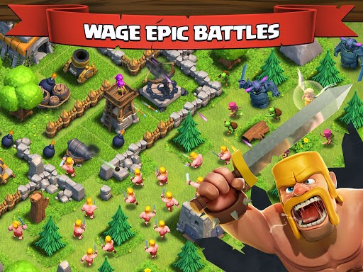 لعبة clash of clans