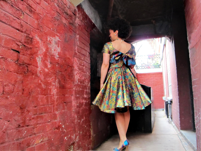 oonaballoona | vintage vogue dress | sewing blog