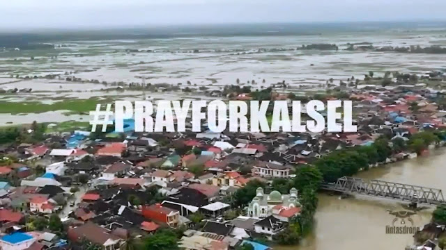 WALHI: Banjir Kalsel Bukan Salah Hujan, Tapi Akibat Tambang dan Kebun Sawit
