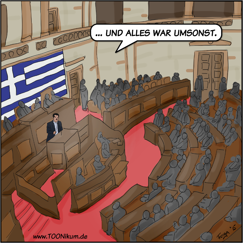 TOONikum: Griechenland: Des Dramas nächster Teil