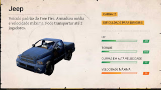 carros free fire