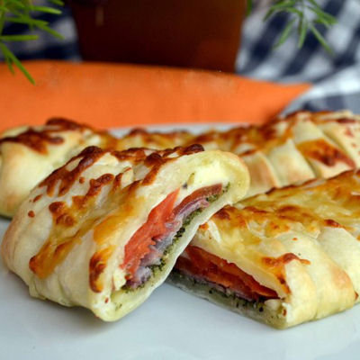Recette Pizza calzone 100% italienne