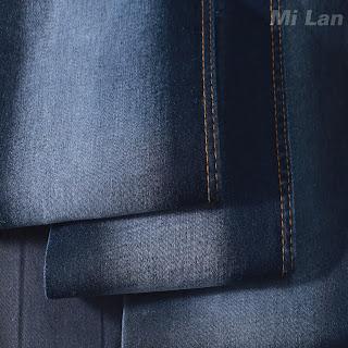 Vải Jean Nam thun nhẹ 337
