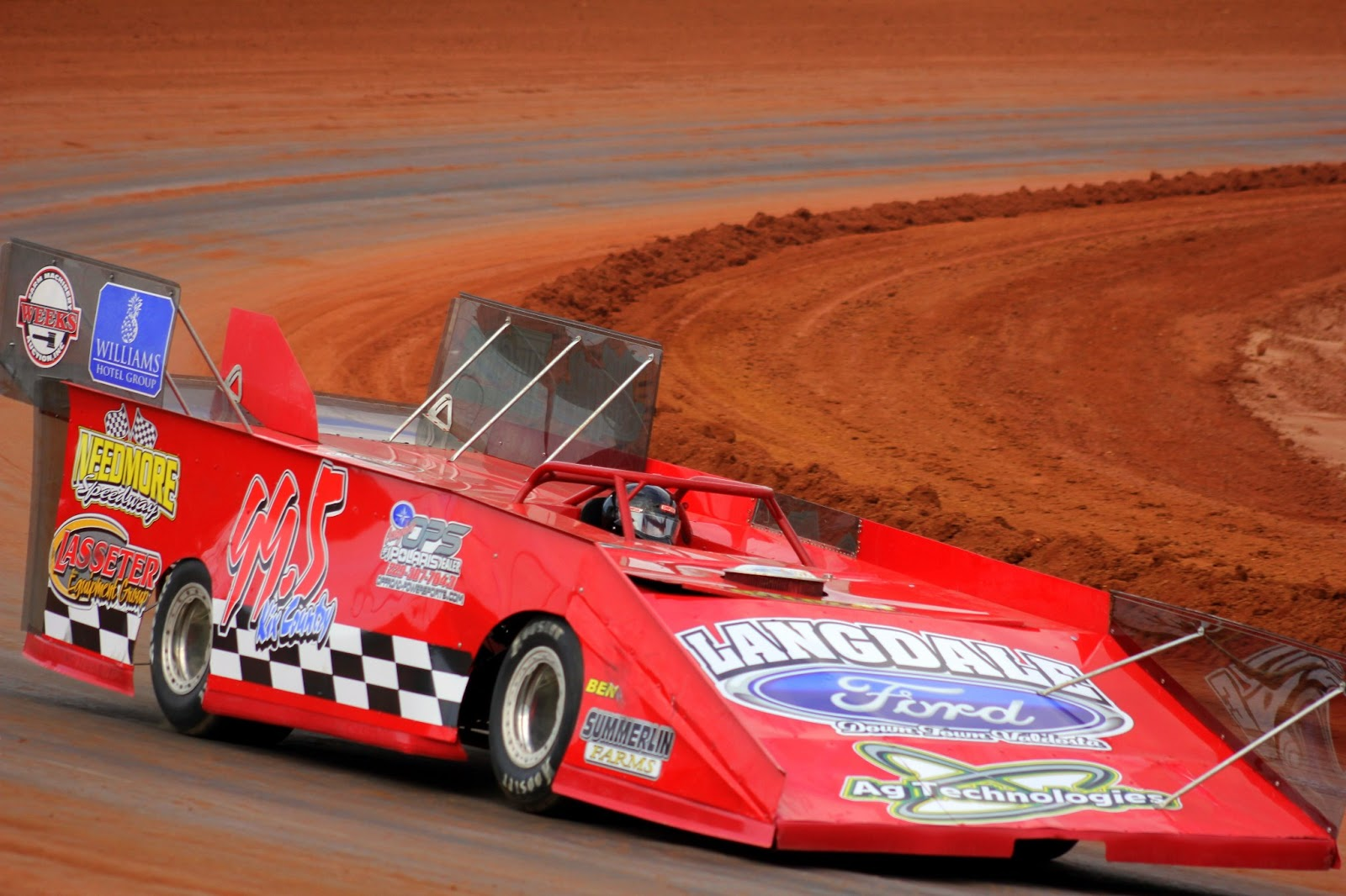 Deep Dixie Racing Skip Pannell Wins Old School In A Slugfest