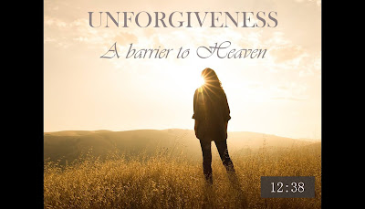 Teaching the logos Mark Nolan teaching Unforgiveness