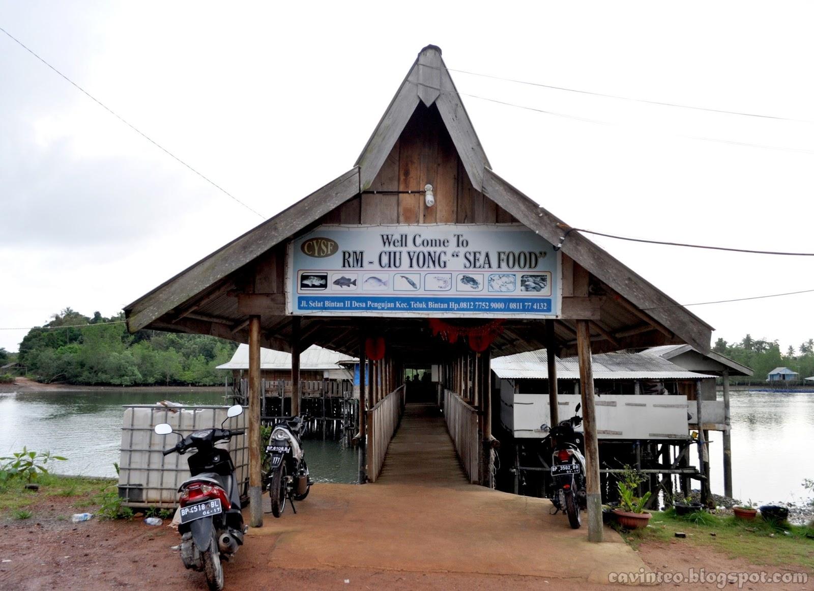 Kelong Seafood Restaurant Bintan