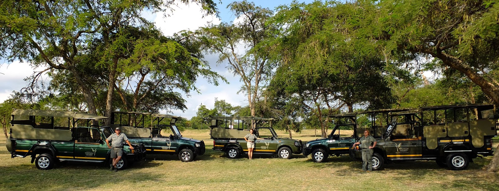 Kruger Park Safaris Ranger Blog: Some of Nhongo Safaris Fleet of