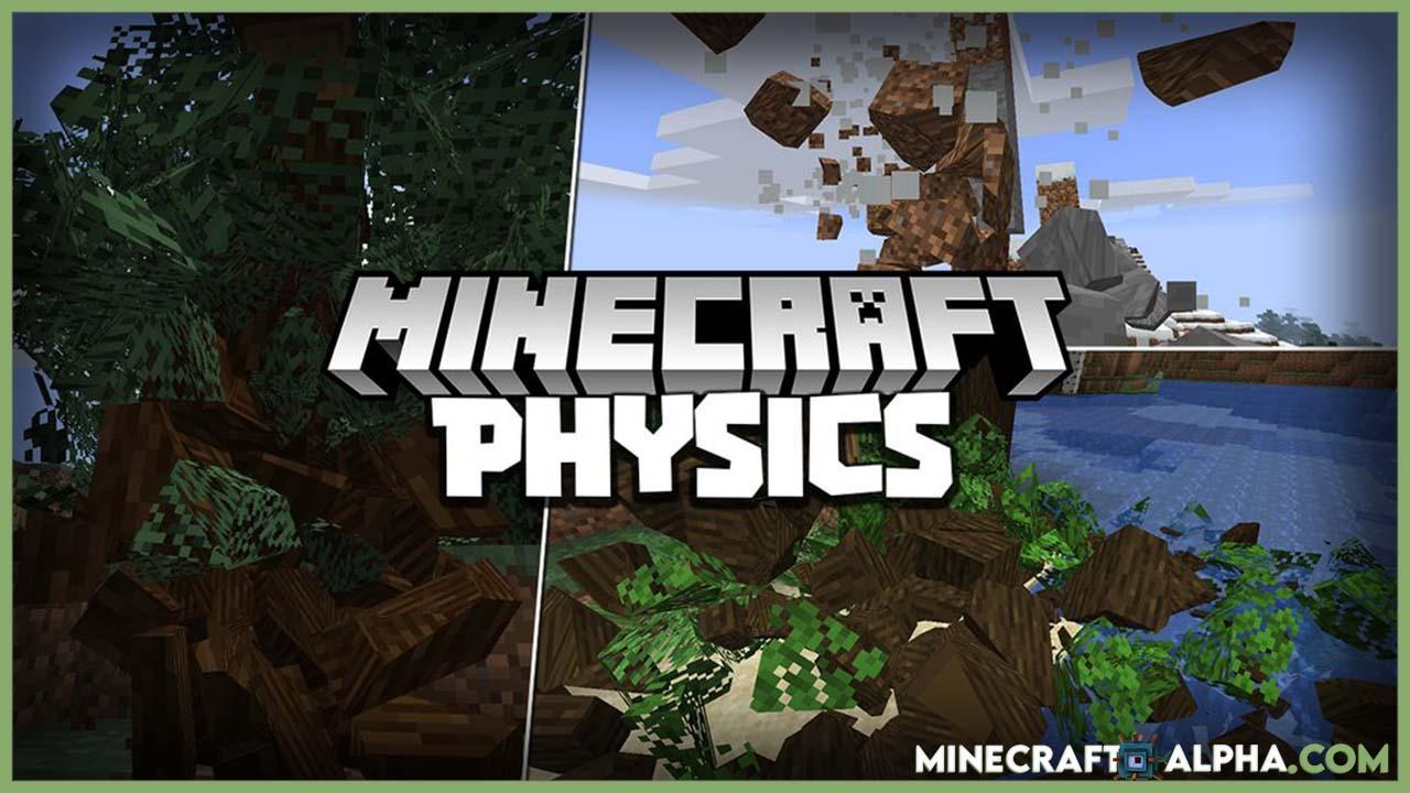 New Physics Mod For 1.16.5 (Destructive, Realism)