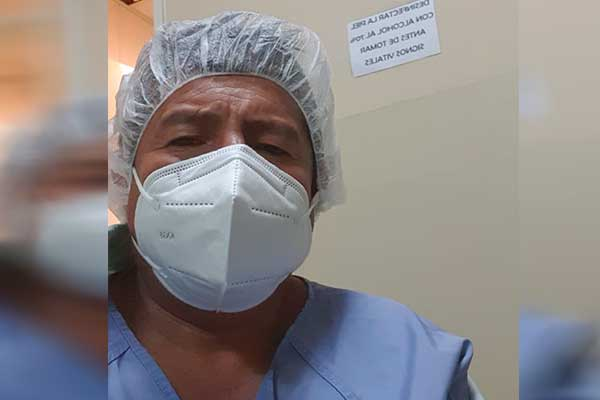 Quispe ahora se encuentra internado en la Caja Petrolera de Salud de La Paz / RRSS