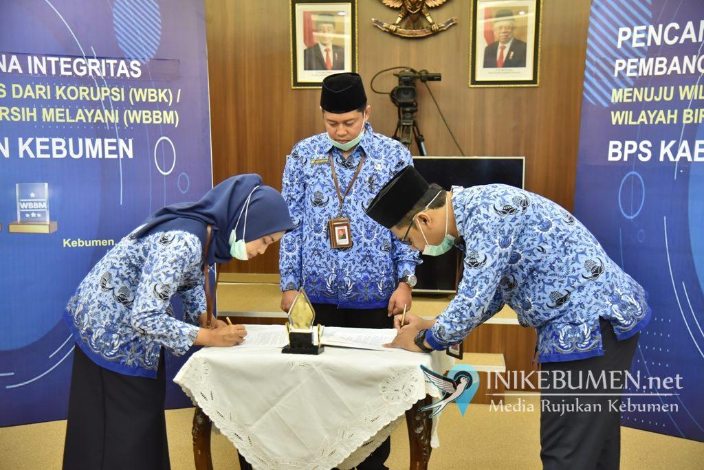 Deklarasi Zona Integritas, BPS Kebumen Janji Tak Korupsi