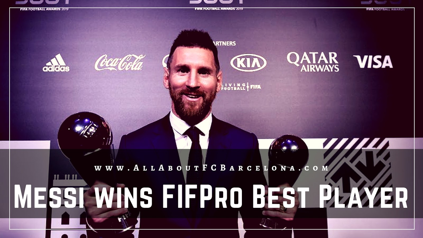 Lionel Messi crowned FIFPro Best Men's Player
