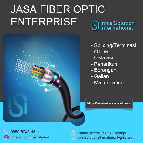 Jasa Splicing Fiber Optic Sidoarjo Enterprise