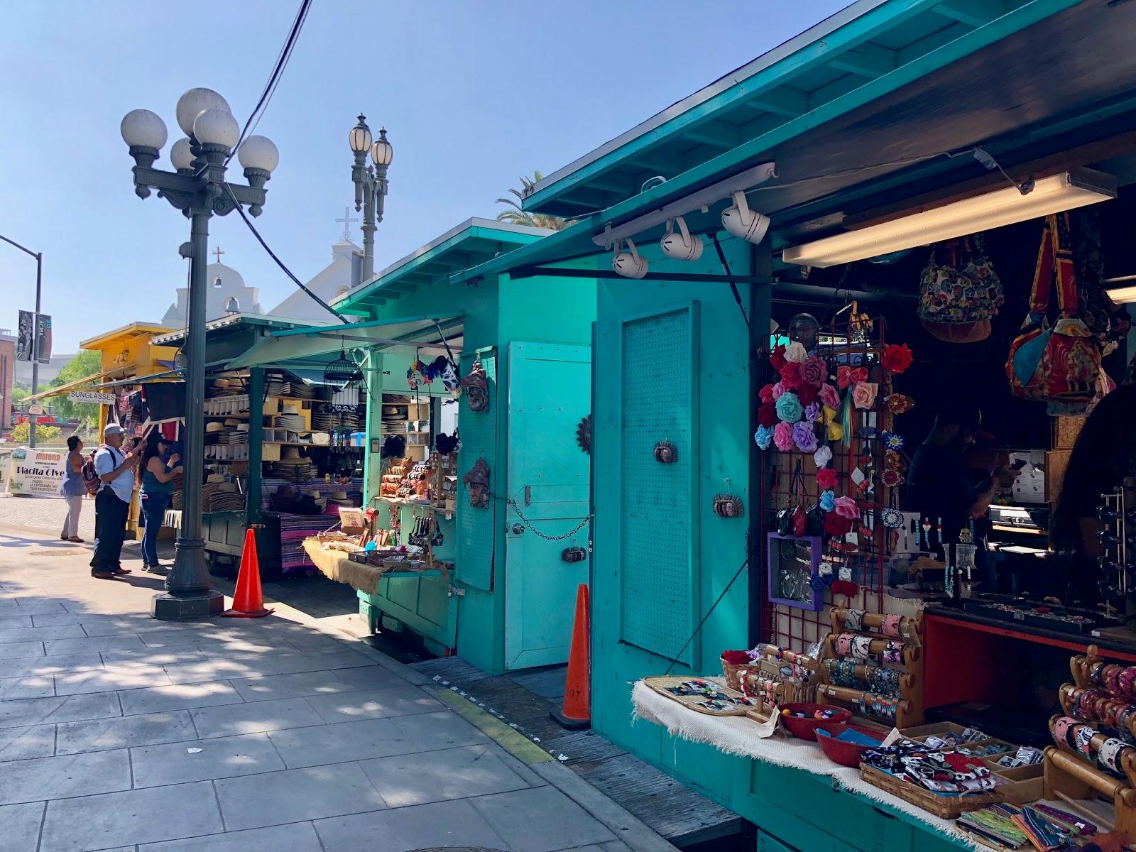 Olvera Street Vendors - Life in Wanderlust