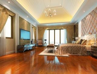 lantai kayu kamar