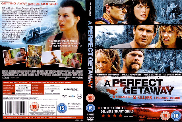 A Perfect Getaway DVD Cover