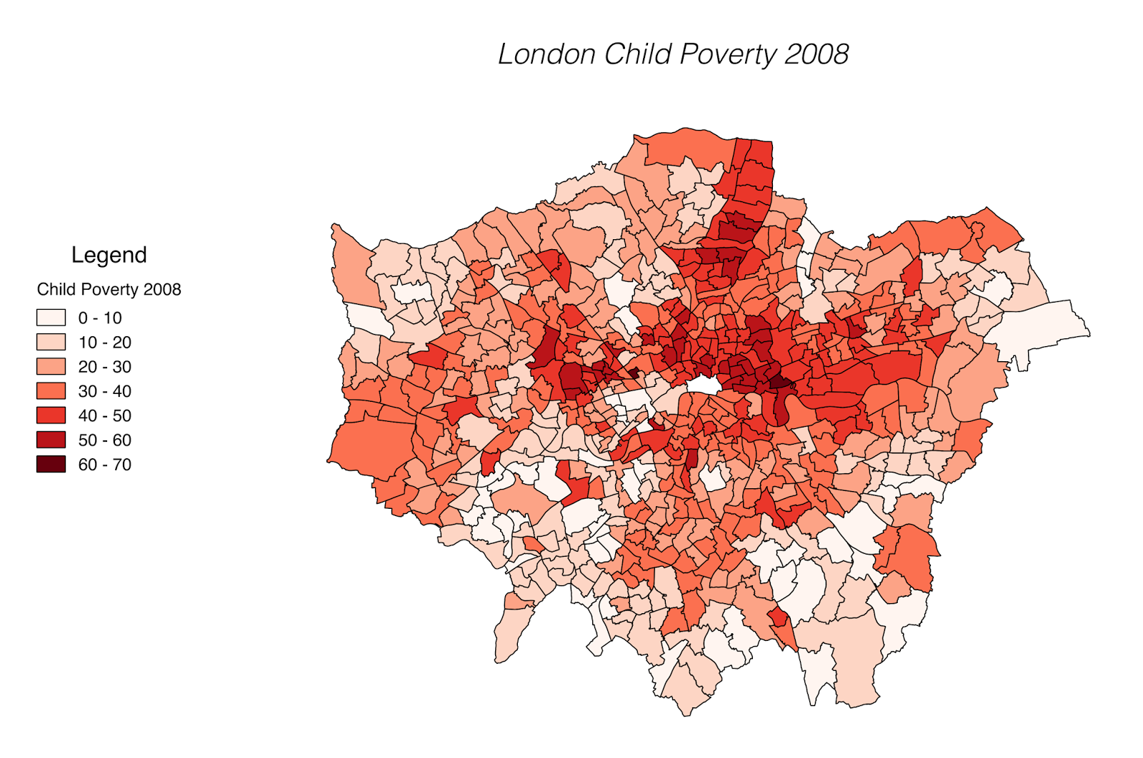 London child poverty (2008)