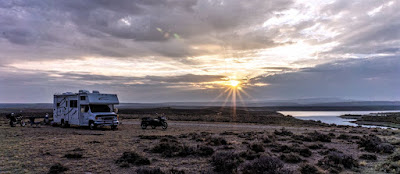 Wyoming Boondocking - Day 24: Cloudy and Windy Day
