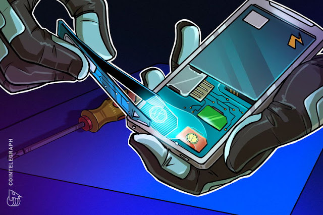 Первая крипто-облегчающая SIM-карта
