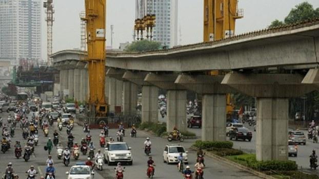 Dự án uốn lượn đường sắt trên cao của nhà thầu TQ