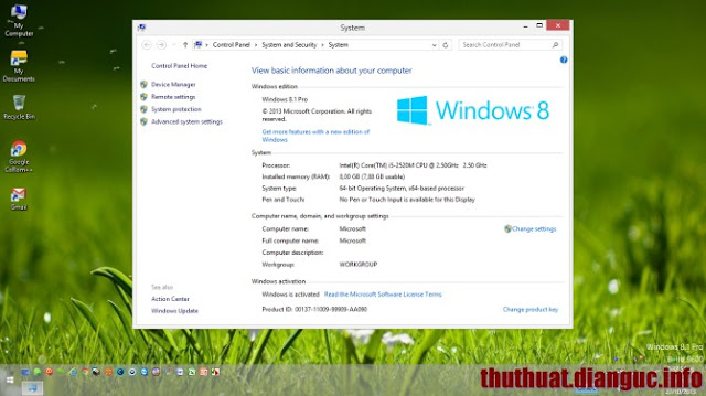 Download Ghost Windows 8.1 Professional 32 bit 64 bit Full Soft