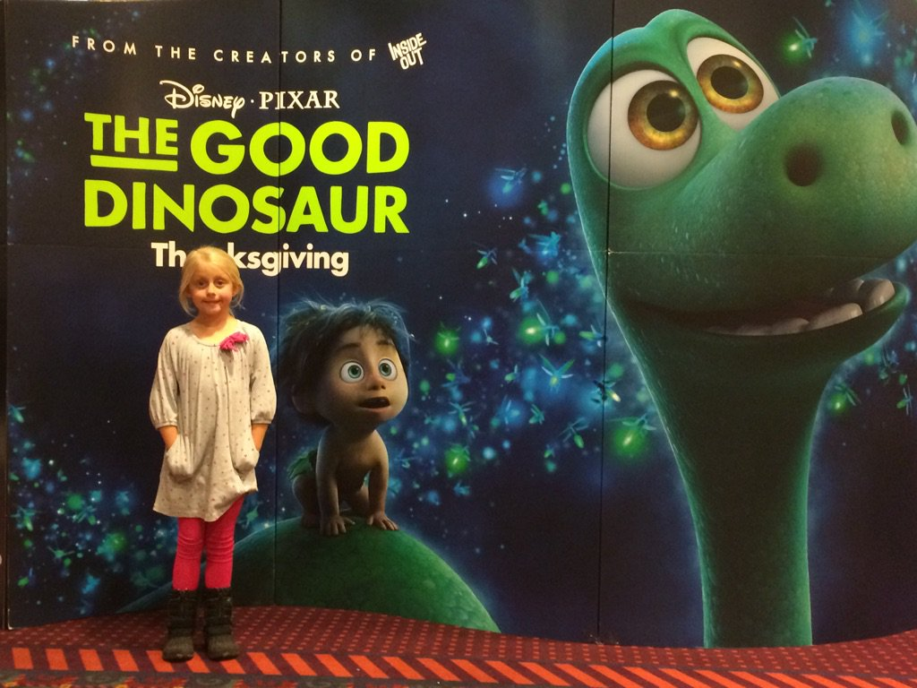 My Little Girl And I Enjoyed An Enjoyable Daddy Daughter Night Out Going To See THE GOOD DINOSAUR The Newest PIXAR Theatrical Movie Release From Walt