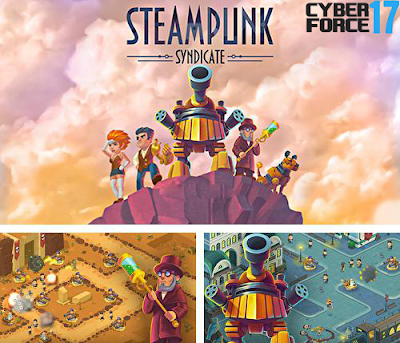Download Game Steampunk Syndicate MOD APK Unlimited Money/Gems 1.0.1.2 Terbaru 2017