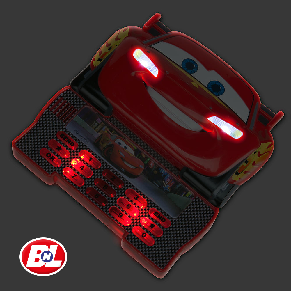 WELCOME ON BUY N LARGE: Cars 2: Lightning McQueen Toy Cell