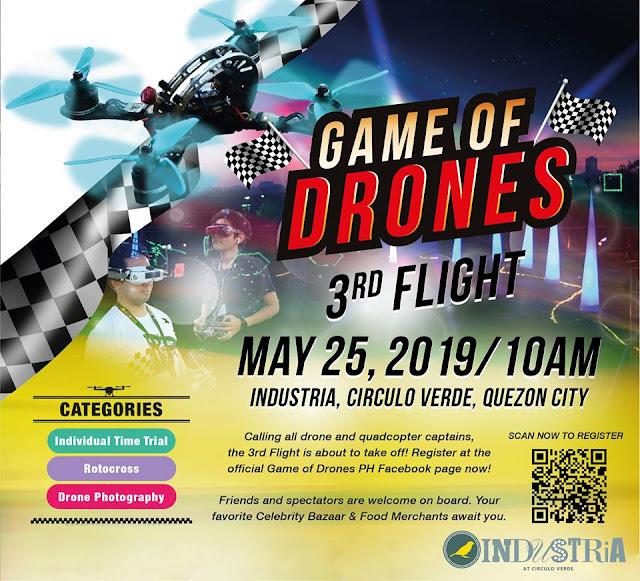 Game of Drones 3rd Flight