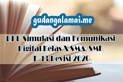 RPP Simulasi dan Komunikasi Digital Kelas X SMA/SMK K-13 Revisi 2020