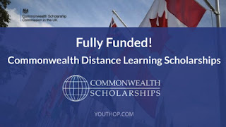 Fully Funded | Commonwealth Distance Learning Scholarships for Developing Commonwealth Countries 2020