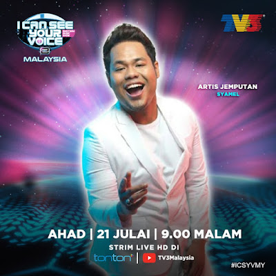 Live Streaming I Can See Your Voice Malaysia 21.7.2019