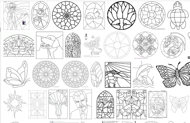 Quilt Inspiration Free Pattern Day Stained Glass Quilts Inspiration Stain Glass Patterns