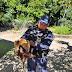 REGIÃO / Tamanduá Bandeira é resgatado na Estrada do Boiadeiro no município de Jacobina-BA