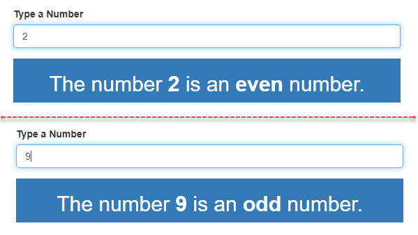 Odd and Even Number