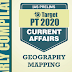 GS Score Target PT 2020 Geography Mapping Current Affairs PDF Download in English
