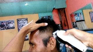 Cara potong rambut model quiff