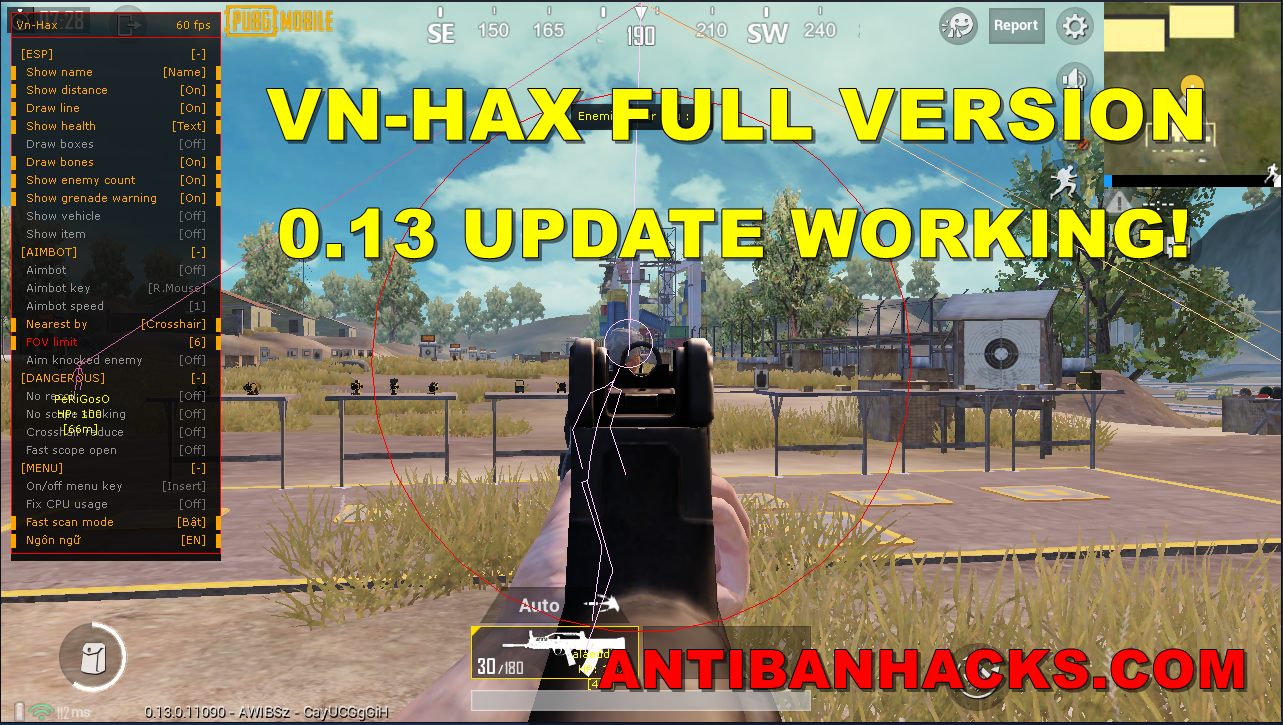 VN HAX - 0 13 UPDATE HACK UNDETECTED | 100% WORKING - Hack Pubg