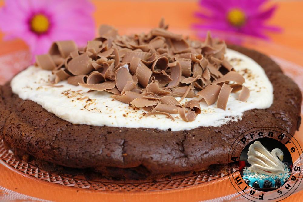 Moelleux Chocolat Sukar orange