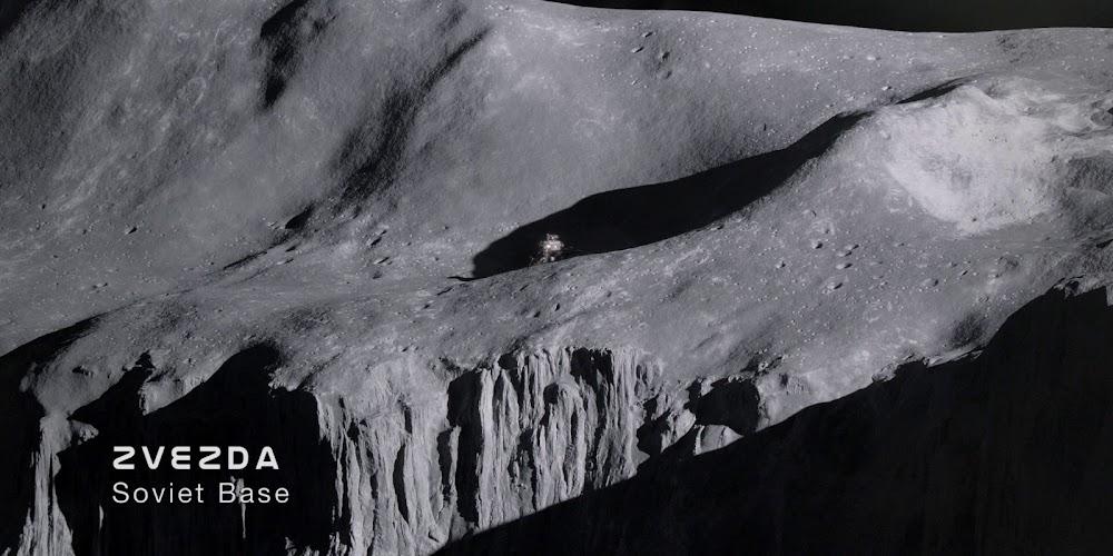 Zvezda Soviet Moon base in season 1 of 'For All Mankind'