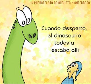 el dinosaurio augusto monterroso cuento completo pdf