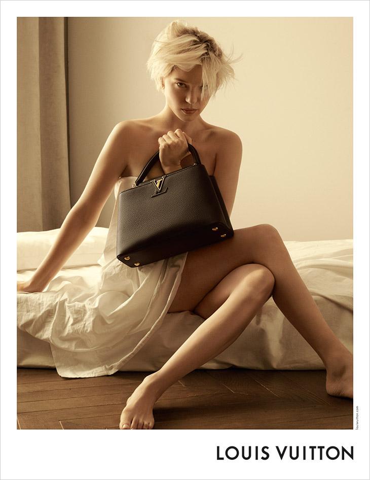 Louis Vuitton Capucines 2021 Campaign