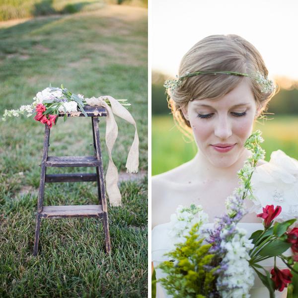 wanderlove wedding inspiration shoot | rose wheat photography | via Oh Lovely Day