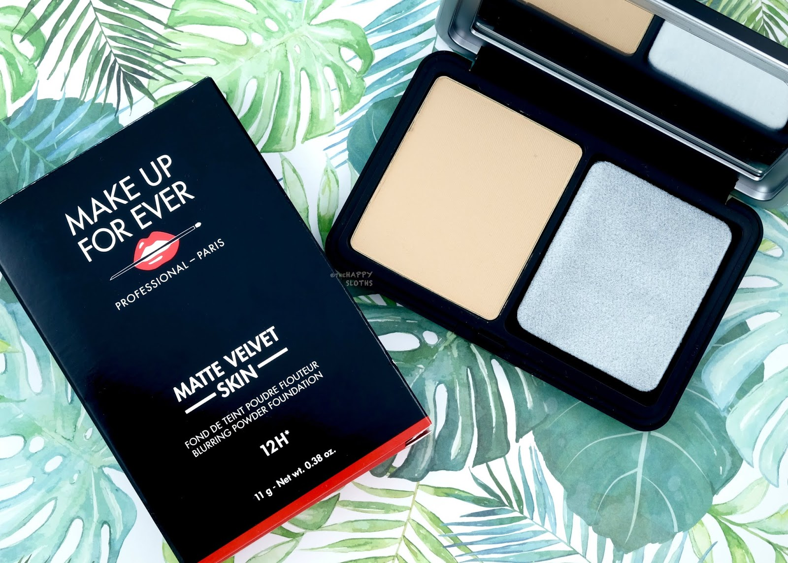 Make Up For Ever | Matte Velvet Skin Blurring Powder Foundation: Review and Swatches