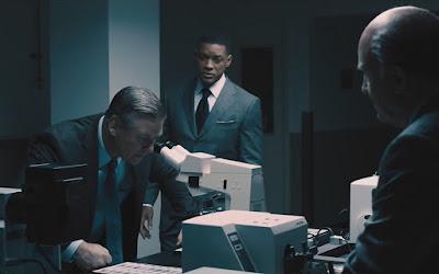 Alec Baldwin e Will Smith em Um Homem entre Gigantes, filme do Cine Aventura deste sábado (20)