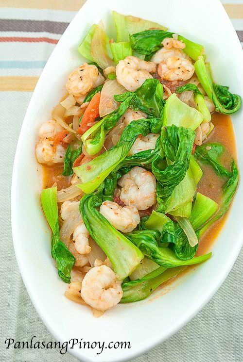 Sauteed Bok Choy with Shrimp #recipes #chineserecipes #food #foodporn #healthy #yummy #instafood #foodie #delicious #dinner #breakfast #dessert #lunch #vegan #cake #eatclean #homemade #diet #healthyfood #cleaneating #foodstagram