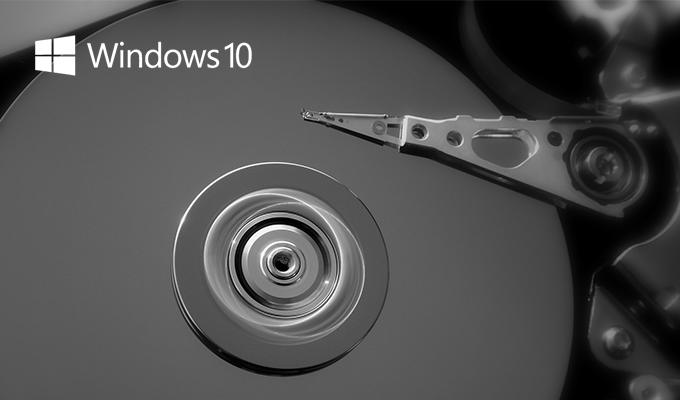 Windows 10 Disk Kullanımı