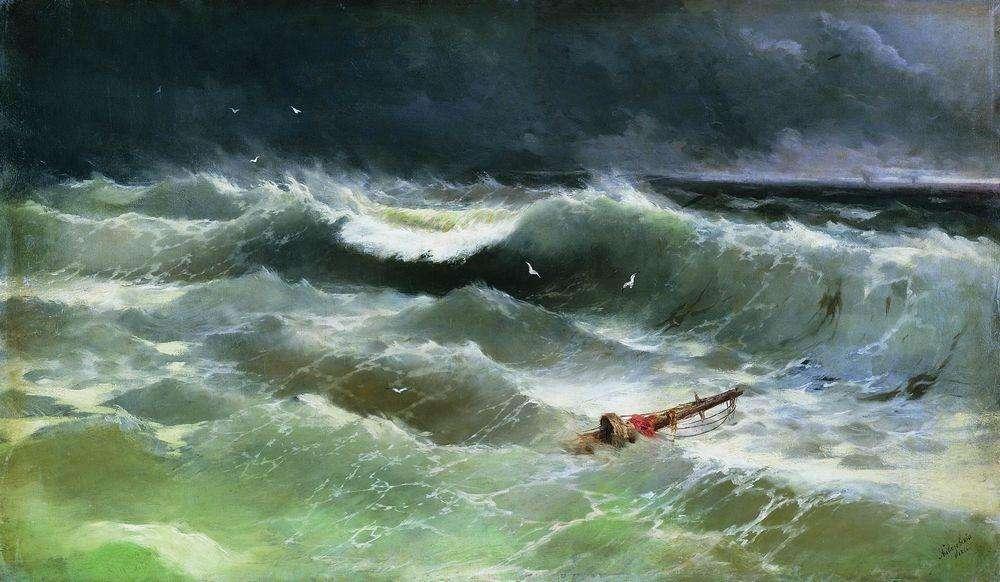18-Burya-1886-Ivan-K-Aivazovsky-Иван-К-Айвазовский-Paintings-of-the-Sea-from-1840-to-1900-www-designstack-co