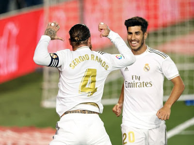 Real Madrid 1-0 Getafe: Ramos Continues His Legacy As Los Blancos Go Four Points Clear Ahead Of Barcelona